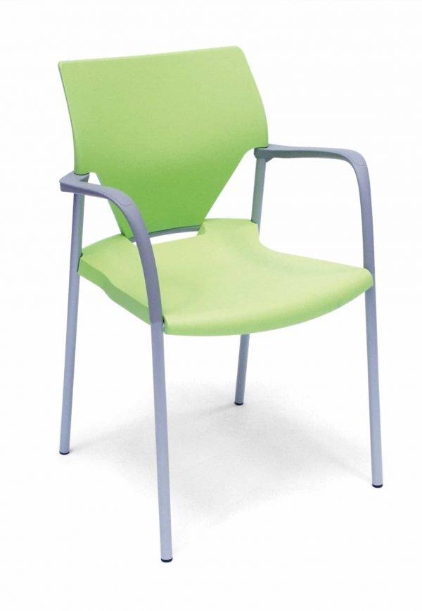 Zaal-/kerkstoel Trendy (groen)