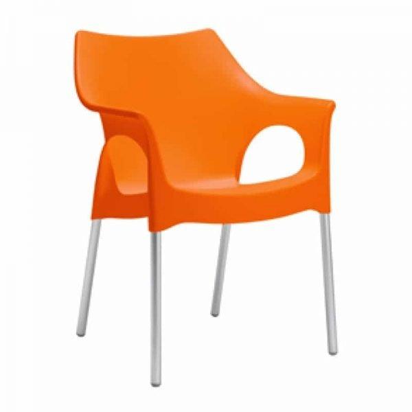 Ola_oranje_design_stoel