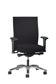 Se7en bureaustoel gestoffeerd