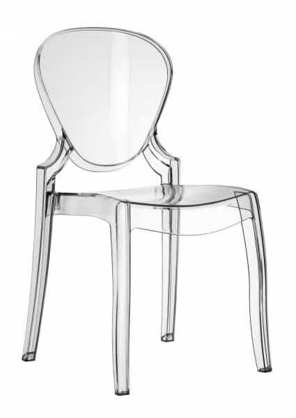 Queen design stoel transparant