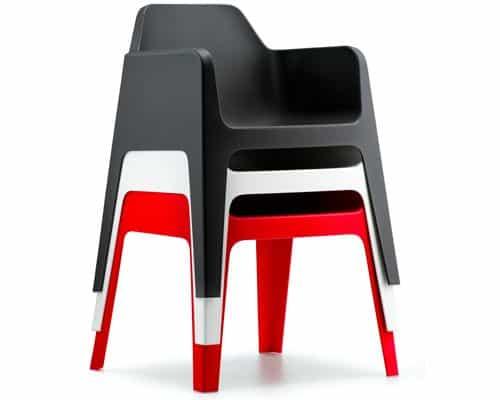 Stapel Plus terrasstoelen
