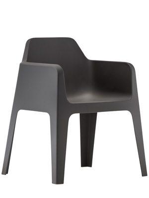plus terrasstoel zwart