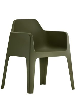 Plus terrasstoel groen