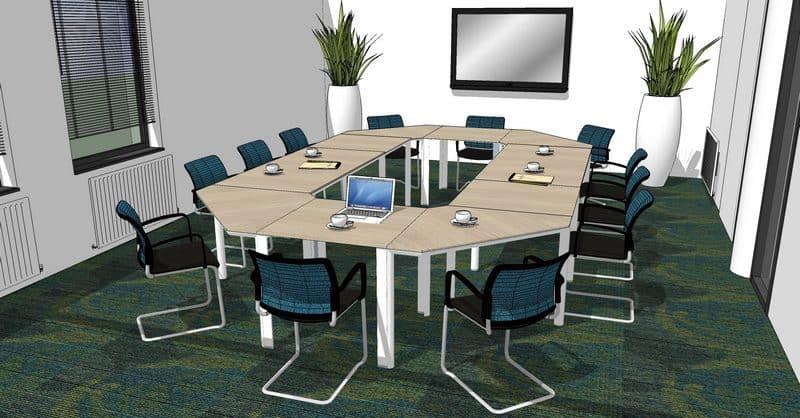 Kantoorinrichting - Vergaderzaal