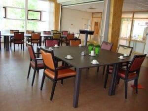 Rolstoelvriendelijke tafels