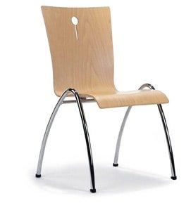 Kerkstoelen Sempre stapelbaar