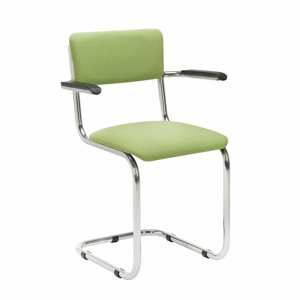 Juster design stoel vintage model met en zonder armleggers for Design stoel 24