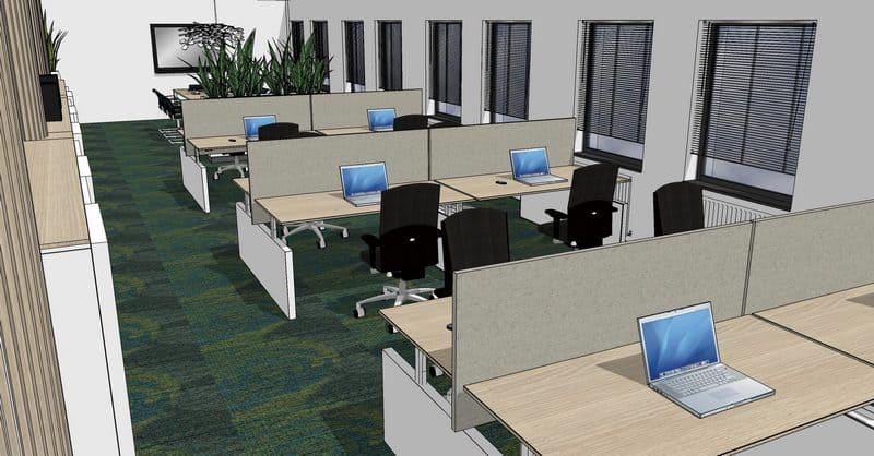 Kantoorinrichting groningen de jong kantoormeubilair - Professionele kantoorinrichting ...
