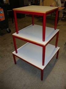schooltafels laag model