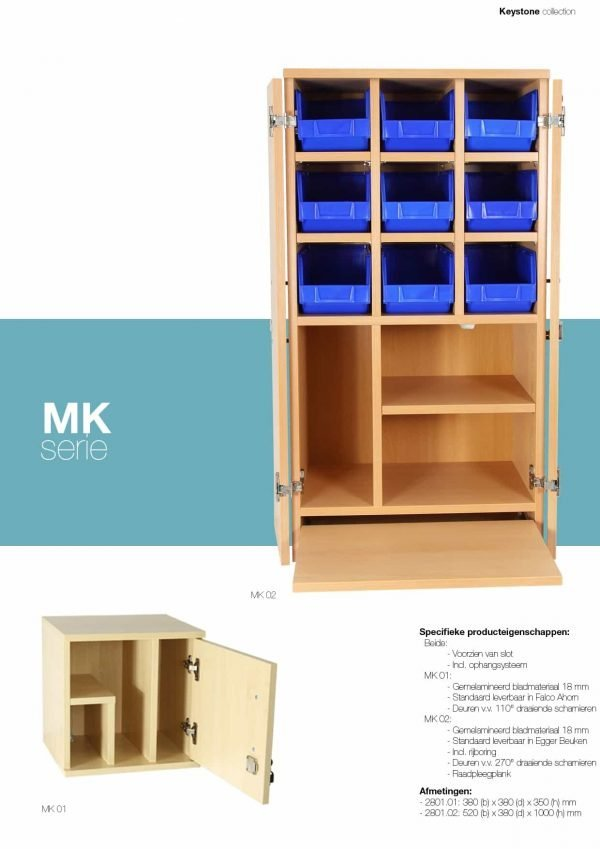 Medicijnkast MK01 en MK02