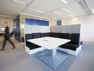 Akoestische kantoorinchting - Lounge Mibra (6)