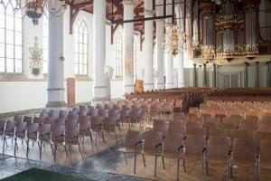 Lynx kerkstoel Martinikerk Franeker