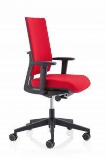 Kohl bureaustoel Anteo Rood achterkant