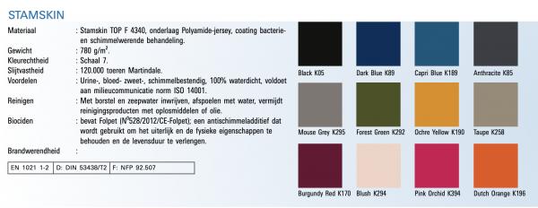 Stamskin kleuren 2021