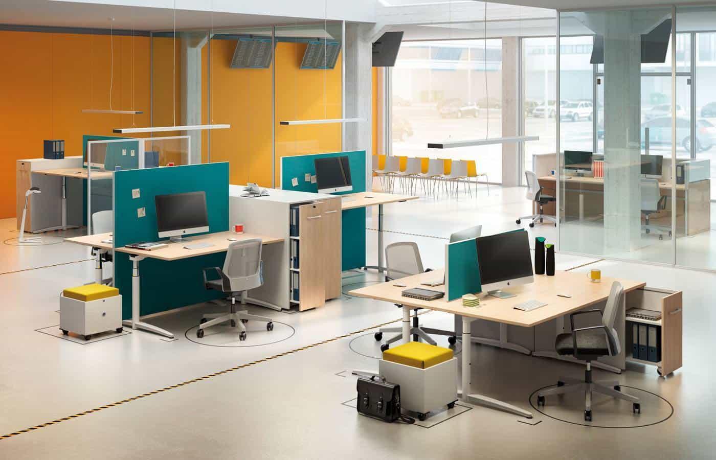 Kantoorinrichting Consultancy Bureau : Palmberg caldo werkplekken de jong kantoormeubilair