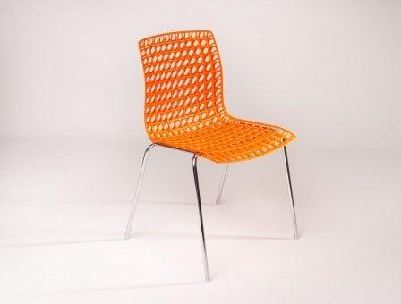 Moire workware stoel - Geschikt voor kantine-, kerk- of vergaderstoel