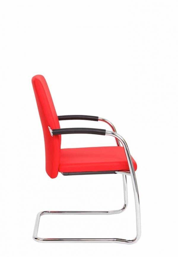 ergaderstoel sledemodel rood BM35