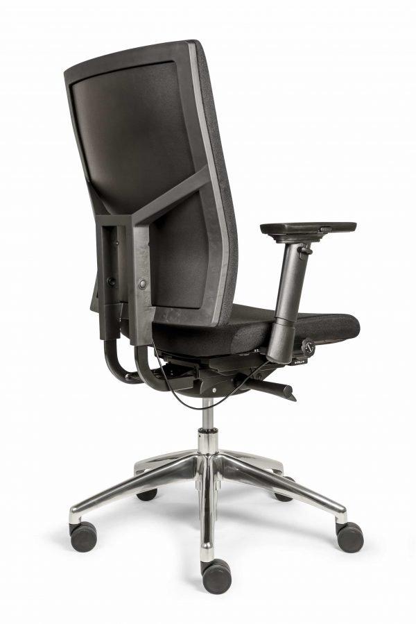 Ergonomische bureaustoel (BM35 Edition Comfort uitvoering) achter aanzicht