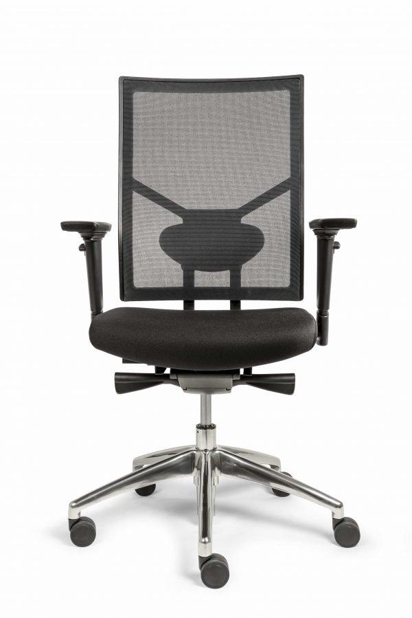 Ergonomische bureaustoel (BM35 Edition Netwave) voor aanzicht