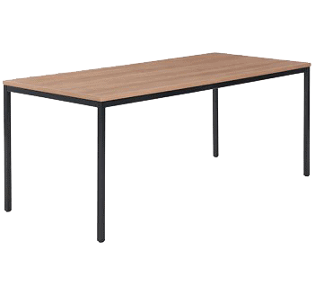 rechte vergadertafel standaard