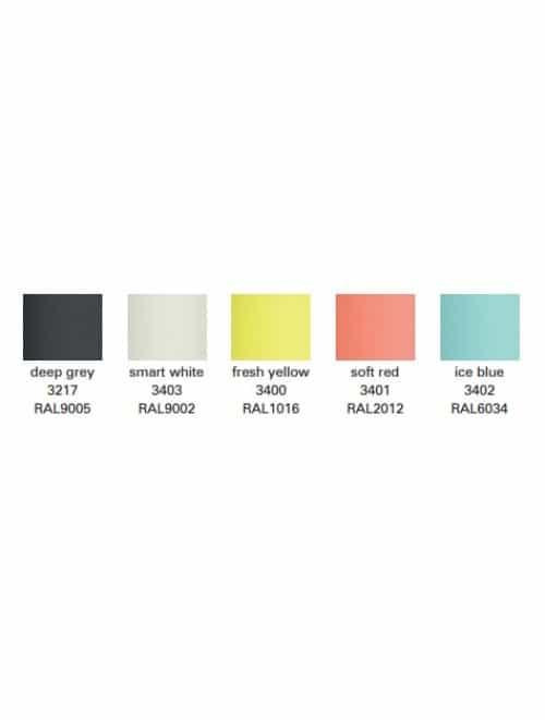 Design kantoormeubilair: Upis1 kleuren