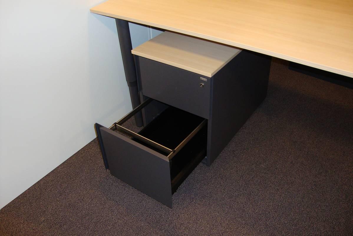 Mibra ladenblok met hangmappenframe de jong kantoormeubilair for Ladenblok hangmap