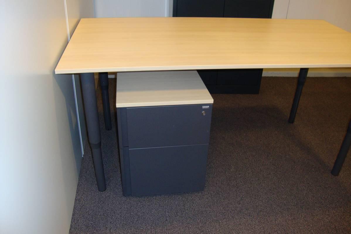 Mibra ladenblok met hangmappenframe de jong kantoormeubilair for Ladenblok tweedehands