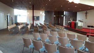 kerkstoelen de Jong kantoormeubilair Dokkum