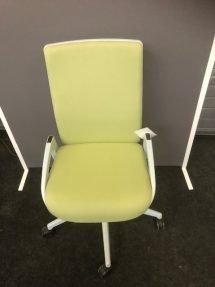 Groene bureaustoel_showroommodel